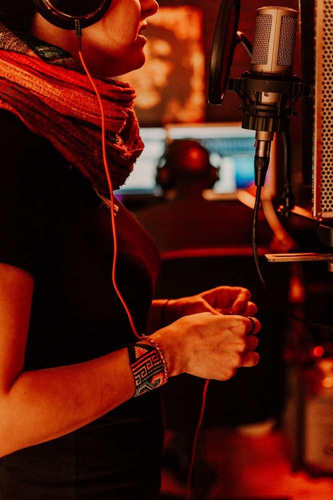 Taking of his album Cala